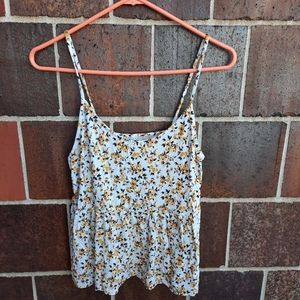 American Eagle AE soft and sexy floral tank top